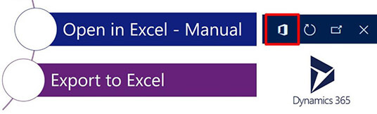 Excel Integration in Dynamics 365 for Finance and Operations
